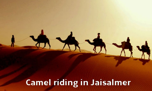 The city of Jaisalmer